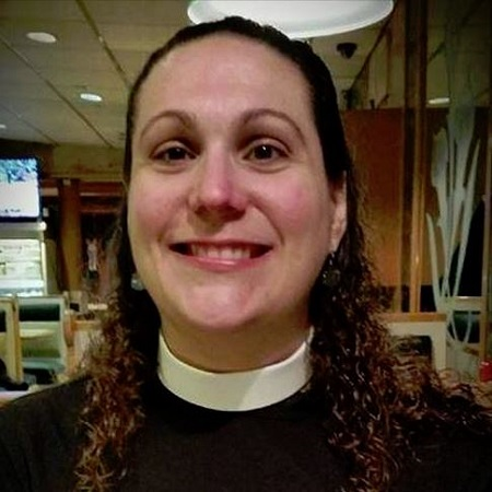 The Rev. Angela Cipolla is our Priest-in-Charge, serving on a part-time basis. She is the 54th priest to lead Trinity since Edward Portlock held the first services in 1698.